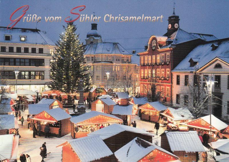 Suhl Weihnachtsmarkt.Meininger Briefmarkensammlerverein E V
